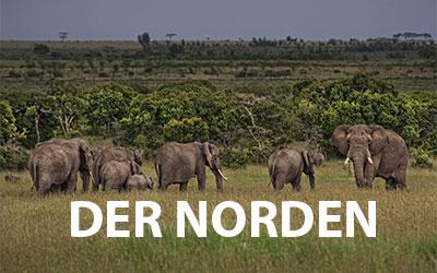 Nationalparks im Norden von Kenia