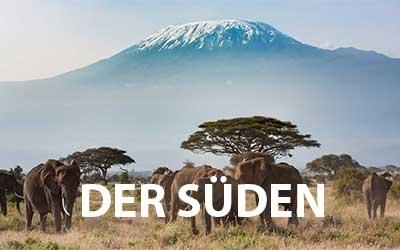 Nationalparks im Süden von Kenia