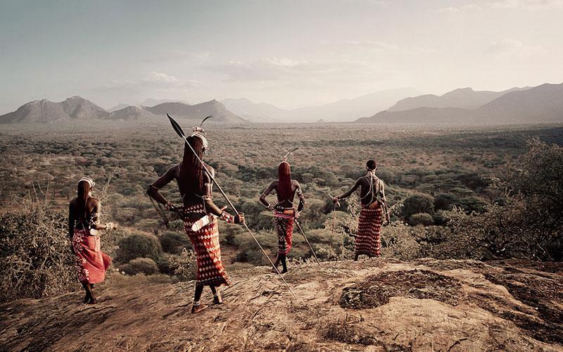 die massai in kenia